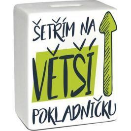 Albi Pokladnička keramická cihlička Větší pokladnička 11,8 x 10 x 5 cm