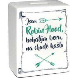 Albi Pokladnička keramická cihlička Robin Hood 11,8 x 10 x 5 cm
