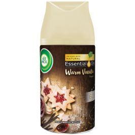 Air Wick FreshMatic Essential Oils Warm Vanilla - Vůně vanilkového cukroví automatický osvěžovač náhradní náplň 250 ml
