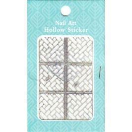 Nail Accessory Hollow Sticker šablonky na nehty multibarevné cihličky 1 aršík 129