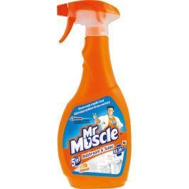 Mr. Muscle Bathroom & Toilet Orange 5v1 čistící a dezinfekční prostředek 500 ml