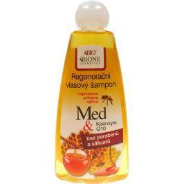 Bione Cosmetics Med a Q10 Koenzym regenerační šampon na vlasy 260 ml