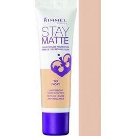 Rimmel London Stay Matte Liquid Mousse make-up 100 Ivory 30 ml