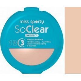 Miss Sporty So Clear Anti-Spot pudr na problematickou pleť 001 Transparent 9,4 g
