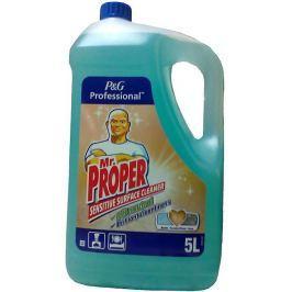 Mr. Proper Sensitive čistící prostředek na citlivé povrchy mramor, lakované dřevo, keramické povrchy.. 5 l