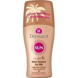 Dermacol Sun SPF6 Voděodolné mléko na opalování 200 ml sprej