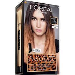 Loreal Paris Préférence Wild Ombré barva na vlasy N1 světle-tmavě hnědé vlasy