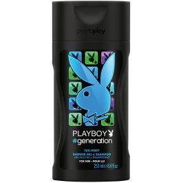 Playboy Generation for Him 2v1 sprchový gel a šampon pro muže 250 ml