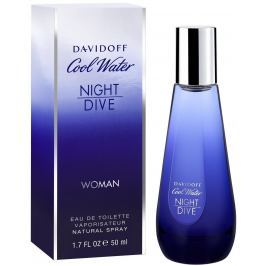 Davidoff Cool Water Night Dive Woman toaletní voda 50 ml