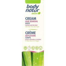 Body Natur Sensitive Aloe Vera a Arganový olej depilační tělový krém pro celé tělo 100 ml