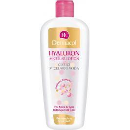 Dermacol Hyaluron Cleansing Micellar Lotion čisticí micelární voda s kyselinou hyaluronovou 400 ml