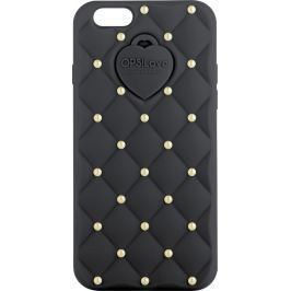 Ops! Objects Matelassé Crystal Cover iPhone 5 kryt na mobil OPSCOVI5-21 černá