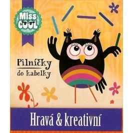 Nekupto Miss Cool Pilníčky na nehty Sova Hravá & kreativní 6 kusů 1 balení, 005
