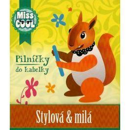Nekupto Miss Cool Pilníčky na nehty Veverka Stylová & milá 6 kusů 1 balení, 006