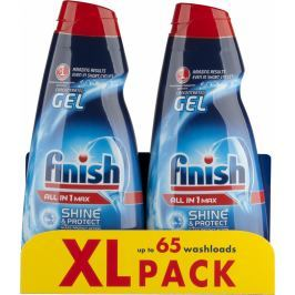 Finish All in 1 Max Shine & Protect gel do myčky 2 x 650 ml