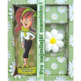 Bohemia Gifts & Cosmetics Pro nejlepší maminku sprchový gel 300 ml + ručně vyráběné mýdlo květina 50 g, kosmetická sada
