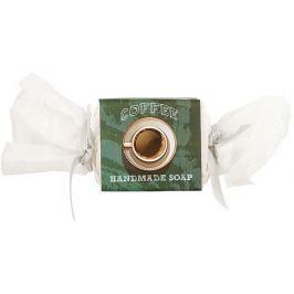 Bohemia Gifts & Cosmetics Coffee ručně vyráběné toaletní mýdlo s kofeinem a glycerinem bonbon 30 g