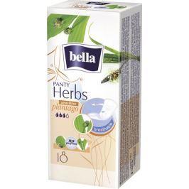Bella Herbs Plantago Sensitive hygienické aromatizované slipové vložky 18 kusů