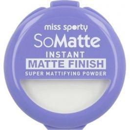 Miss Sporty So Matte Super Mattifying Powder kompaktní pudr 001 Universal 9,4 g