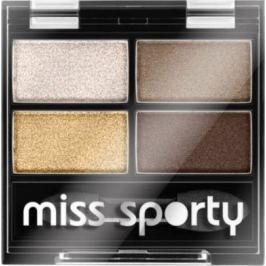 Miss Sporty Studio Colour Quattro oční stíny 413 100% Golden 3,2 g
