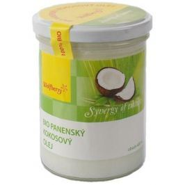 Wolfberry Bio Panenský kokosový olej na tělo i pleť pro suchou až atopickou pokožku 400 ml