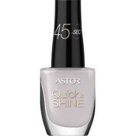 Astor Quick & Shine Nail Polish lak na nehty 610 Mist On My Face 8 ml