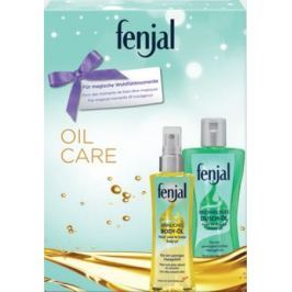 Fenjal Oil Care Shower Oil sprchový olej 200 ml + Body Oil tělový olej 150 ml, kosmetická sada