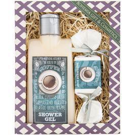 Bohemia Gifts & Cosmetics Coffee sprchový gel 200 ml + ručně vyráběné mýdlo 30 g