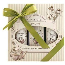 Bohemia Gifts & Cosmetics Tea Spa koupelová lázeň 250 ml + sprchový gel 200 ml +vlasový šampon 200 ml, kosmetická sada