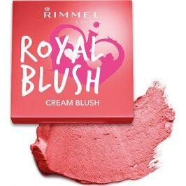 Rimmel London Royal Blush Cream Blush tvářenka 003 Coral Queen 3,5 g