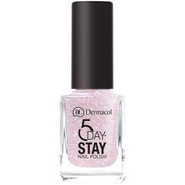 Dermacol 5 Day Stay Dlouhotrvající lak na nehty 04 Nude Glam 11 ml