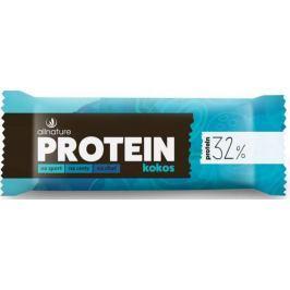 Allnature Proteinová tyčinka 32% Kokosová 35 g
