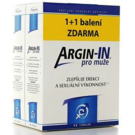 Argin-IN zlepšují erekci a sexuální výkonnost pro muže 90 tobolek + Argin-IN 90 tobolek