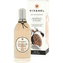 Vivian Gray Vivanel Grapefruit & Vetiver Luxusní toaletní voda s esenciálními oleji pro ženy 100 ml