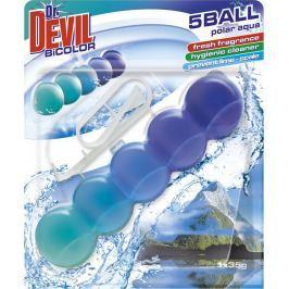 Dr. Devil Polar Aqua BiColor 5Ball Wc závěs 35 g