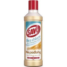 Savo Laminátové povrchy bez chloru tekutý čistící a dezinfekční přípravek na podlahy 1 l