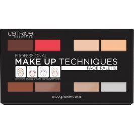 Catrice Professional Make Up Techniques Face Palette profesionální paleta na obličej 010 Volume One 8 x 2,2 g