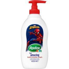 Radox Kids Spiderman sprchový gel a pěna pro děti dávkovač 400 ml