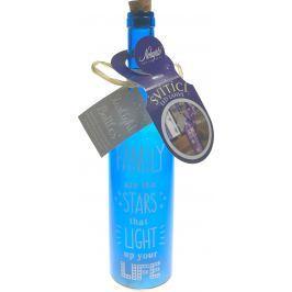 Nekupto LED láhve svítící 001 Family NLD 30 x 7 cm