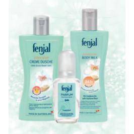 Fenjal Intensive sprchový gel 200 ml + tělové mléko 200 ml + parfémovaný sprej pro ženy 75 ml, kosmetická sada