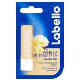 Labello Vanilla & Buttercream balzám na rty 4,8 g