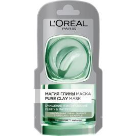 Loreal Paris Pure Clay Purity Mask čisticí pleťová maska 6 ml