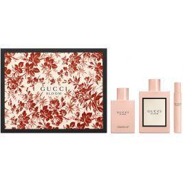 Gucci Bloom parfémovaná voda pro ženy 100 ml + tělové mléko 100 ml + parfémovaná voda 7,4 ml, dárková sada