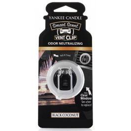Yankee Candle Black Coconut - Černý kokos vonný klip do ventilace