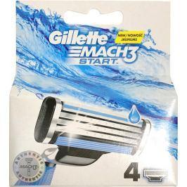Gillette Mach3 Start náhradní hlavice 4 kusy