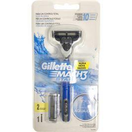 Gillette Mach3 Start holicí strojek pro muže 1 kus + náhradní hlavice 1 kus