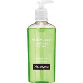 Neutrogena Visibly Clear Pore & Shine Daily Wash čistící gel 200 ml