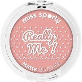Miss Sporty Really Me! Matte Blusher tvářenka 101 Really Tender 5 g
