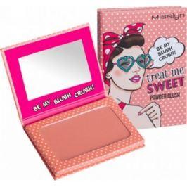 Misslyn Treat Me Sweet! Powder Blush tvářenka 48 Be My Blush Crush! 6 g