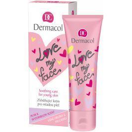 Dermacol Love My Face Hruška a meloun zklidňující krém pro mladou pleť 50 ml